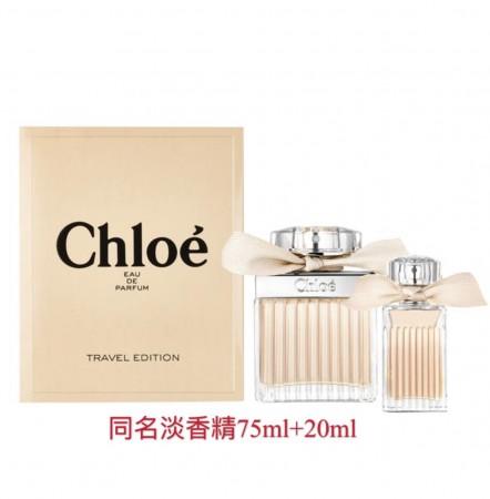 CHLOÉ L'EAU 經典同名女性淡香精禮盒